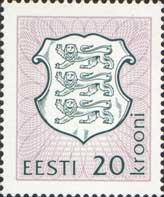 Definitive, 1v; 20 Kr (046-07-1993)