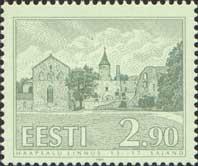 Haapsalu Castle, 1v; 2.90 Kr