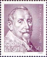 King Gustav II Adolf, 1v; 2.50 Kr