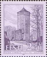 Paide castle, 1v; 2.50 Kr