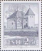 Purtse castle, 1v; 2.50 Kr