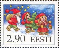 Рождество'97, 1м; 2.90 Кр
