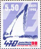 Кубок мира по яхтингу, класс 470, 1м; 5.50 Кр