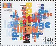 Европейский год языков, 1м; 4.40 Кр