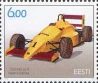Эстонский гоночный автомобиль, 1м; 6.0 Кр