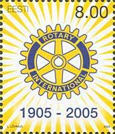 100-летие Rotary International, 1м; 8.0 Kр