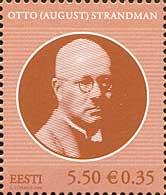 Государственный деятель Отто Страндман, 1м; 5,50 Кр