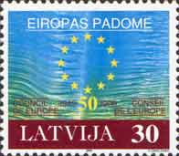 50 лет Совету Европы, 1м; 30c