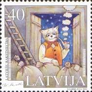 Латышская литература, К.Скалбе, 1м; 40с