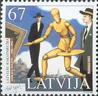 Латышская литература, Аншлавс Эглитис, 1м; 67с