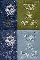 Сувенирный выпуск, Первый человек на Луне, авиапочта, тип II, 2 блока; 2500, 5000 руб