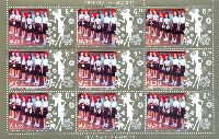 "Конкурс красоты ""Мини мисс Абхазия'09, М/Л из 9м; 9.0 руб х 9"