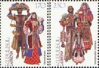 Национальные костюмы, 2м; 170, 250 Драм