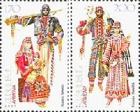 Национальные костюмы, 2м; 170, 200 Драм