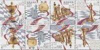 Армения - победитель шахматной Олимпиады в Турине'06, комбинация 2-х серий в тет-беше, 8м; 170, 220, 280, 350 Драм x 2