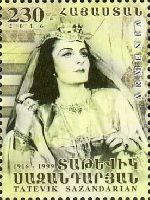 Оперная певица Т. Сазардян, 1м; 230 Драм