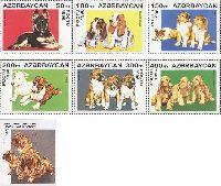 Фауна, Собаки, 6м + блок; 50, 100, 150, 200, 300, 400, 500 M