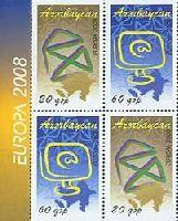 ЕВРОПА'08, комбинация 2-х пар в тет-бешах, 4м; 20, 60г x 2