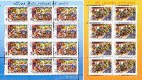 Белорусские народные сказки, М/Л из 12м + М/Л из 8м; 100 руб x 12, 200 руб x 8