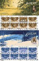 ЕВРОПА'04, 2 буклетa из 7 серий и купонa