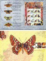 Фауна, Бабочки, буклет; 300, 500, 800, 1200 руб x 3