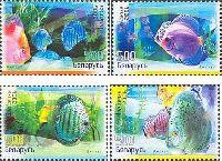 Аквариумные рыбки, 4м; 500 руб x 4