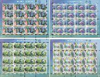 Аквариумные рыбки, 4 М/Л из 16 серий