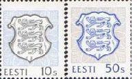 Definitives, 2v; 10, 50s (037-. 038-01-1993)