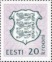 Definitive, 1v; 20 Kr (080-09-1994)