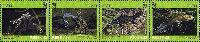 WWF, Тритон с гребнем, 4м в сцепке, 9.0 Kр x 4