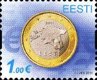 Введение Евро, 1м; 1.0 Евро