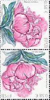 Флора, Пионы, тет-беш, 2м; 0.58 Евро х 2