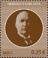Государственный деятель Фридрих Акель, 1м; 0.35 Евро