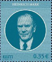 Государственный деятель Генрих Марк, 1м; 0.35 Евро