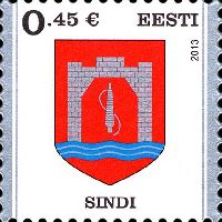 Стандарт, Герб города Синди, самоклейка, 1м; 0.45 Евро