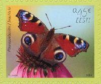 Фауна, Бабочка, самоклейка, 1м; 0.45 Евро