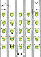 Стандарт, Герб города Сауэ, самоклейка, М/Л из 25м; 0.55 Евро x 25