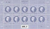 Государственный деятель Юри Улуотс, М/Л из 10м; 0.55 Евро x 10