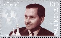 Шахматист Пауль Керес, 1м; 0.65 Евро