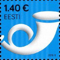 Стандарт, Почтовый рожок, самоклейка, 1м; 1.40 Евро