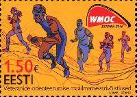 Чемпионаты мира по ориентированию среди ветеранов, 1м; 1.50 Евро