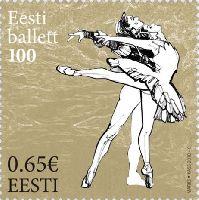 Эстонский балет, 1м; 0.65 Евро