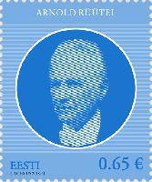 Государственный деятель Арнольд Рюйтель, 1м; 0.65 Евро