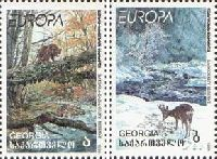 "ЕВРОПА'99, 2м; ""А"", ""Б"" (грузинские буквы)"