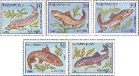 Fauna, Fishes, 5v; 10, 20, 30, 50, 80t