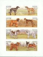 Fauna, Dogs, imperforated, M/S of 8v; 3, 6, 6, 10, 15, 15, 20, 25 S