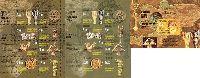 Золото и бронза Саков, 2 М/Л из 8м + блок; 1.50, 3.0, 3.0, 3.60, 7.0, 10.0, 20.0 C x 2, 42.0 C x 3