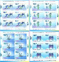 Зимние Олимпийские игры в Сочи'14, беззубцовые 4 М/Л из 6 серий