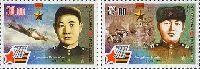 Герои Советского Союза И. Таранчиев и Р. Азимов, 2м; 30.0, 52.0 С