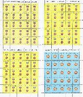 Ордена Казахстана, 4 M/Л из 25 серий